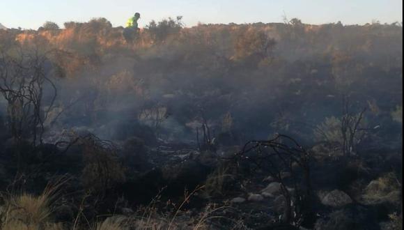 Algunos de los incendios como en Pocsi fueron controlados