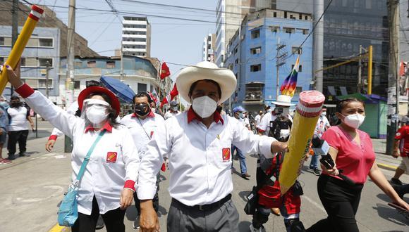Pedro Castillo realiza desde este viernes actividades de campaña en Cajamarca. (Foto referencial: Violeta Ayasta / GEC)