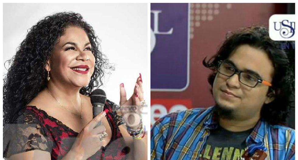 Francisco, el hijo de Eva Ayllón, presenta su disco de rock