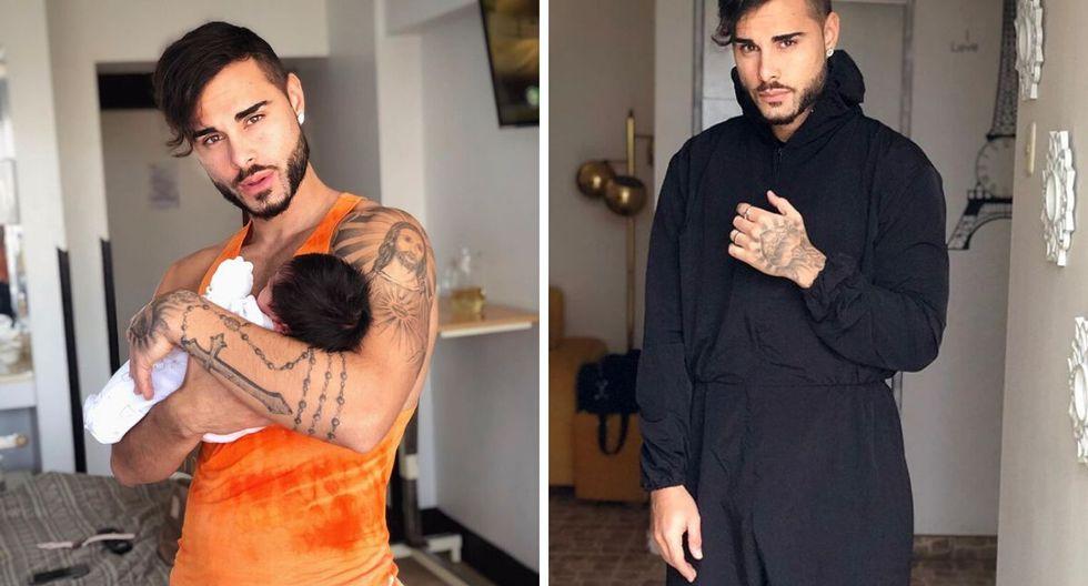 El cantante Alexis Descalzo señaló que su bebé nació sano y pesando más de tres kios. (@alexisdescalzo).