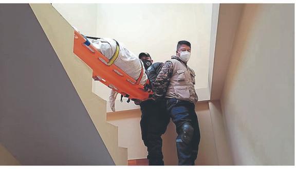 Adultos mayores fueron trasladados a hospitales de Chimbote y Nuevo Chimbote tras padecer violentas caídas en sus domicilios.