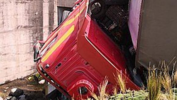 Santa Lucia: accidente de tránsito dejó un fallecido