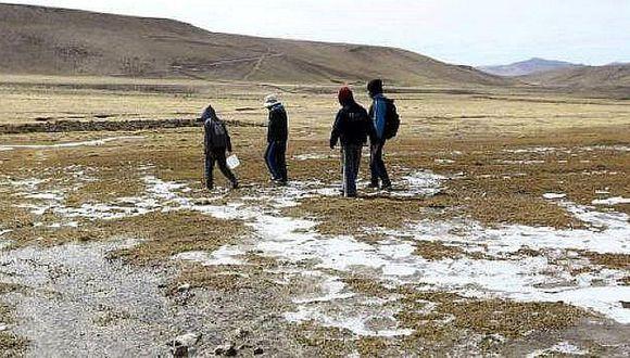 Pronostican descenso de la temperatura en la sierra moqueguana