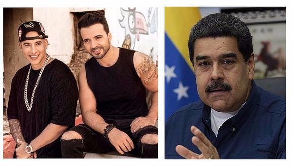 """Luis Fonsi y Daddy Yankee arremeten contra Maduro por hacer """"propaganda"""" con """"Despacito"""""""