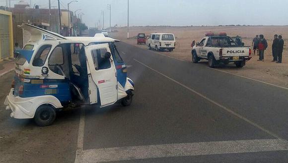 Ilo: Choque de mototaxis dejan 7 personas heridas en Pampa Inalámbrica