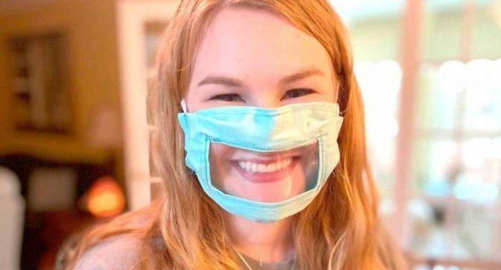 Comercializan las primeras mascarillas transparentes para protegerse del COVID-19