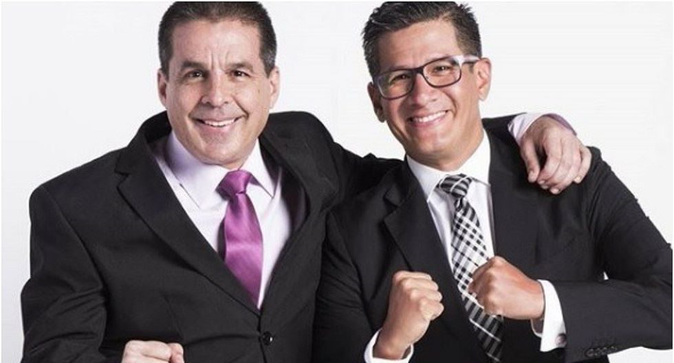 Erick Osores le dedicó emotivas palabras a Gonzalo Núñez por su salida de América TV (FOTO)