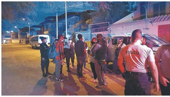 Extranjeros fueron trasladados a la base de Seguridad del Estado por encontrarse de manera ilegal en el país.
