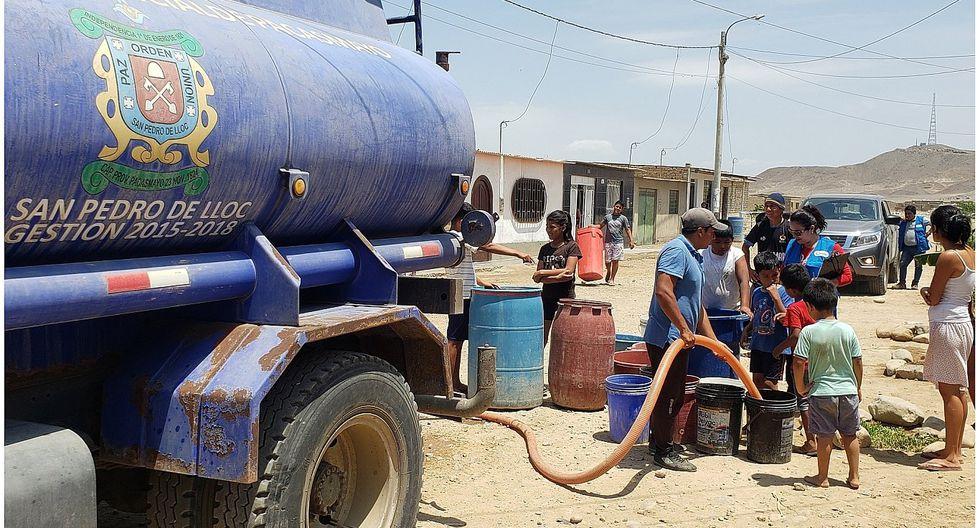 Monitorean abastecimiento alternativo de agua potable en Pacasmayo