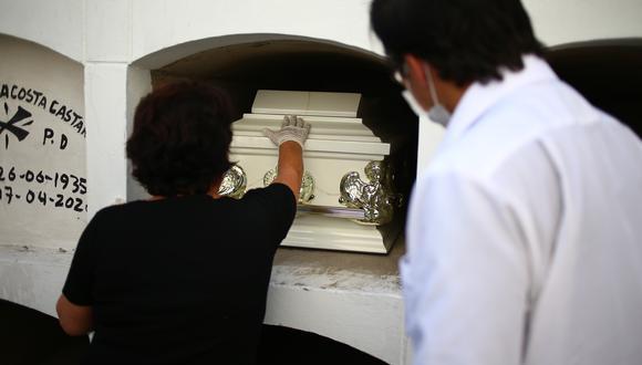 Los cementerios son puntos de contacto bastante alto, debido a que la mayoría de fallecimientos son a causa de COVID-19.  (GEC)