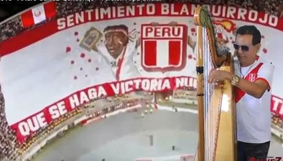 """Peruano adapta tema """"Moscú"""" al arpa y lo fusiona con """"Perú Campeón"""" (VIDEO)"""