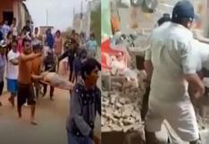 Sismo en Piura: al menos dos personas heridas tras fuerte temblor en Sullana (VIDEOS)