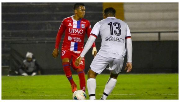 Los tricolores se adelantaron con un tanto de Arley Rodríguez, pero los arequipeños empataron por intermedio de Othoniel Arce. (Foto: CAM)