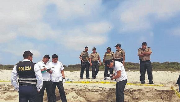 Hallan el cuerpo sin vida de un hombre en Playa Hermosa en el distrito de Corrales
