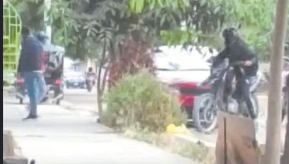 Los hampones fueron grabados en pleno asalto a ciudadanos de nacionalidad colombiana. Moradores de Talarita piden seguridad.