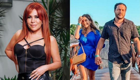 """Conductora de """"Magaly TV, la firme"""" se pronunció luego que la hija de Gisela Valcárcel anunciara su compromiso con Julián Alexander. (Foto: Instagram)"""