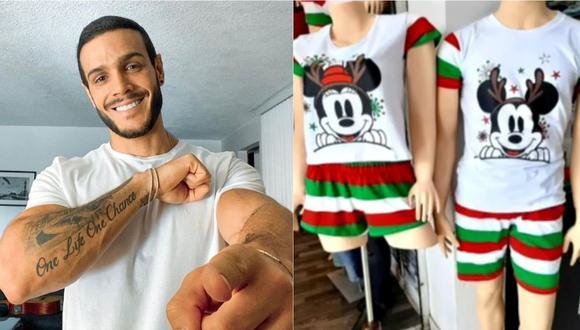 Mario Irivarren fue acusado de no vender productos originales en Gamarra. | Foto: Composición.