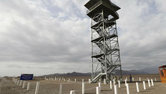 Ica: La torre mirador se encuentra en el kilómetro 424 de la carretera Panamericana Sur, en el distrito de Ingenio. (Foto: Mincul)