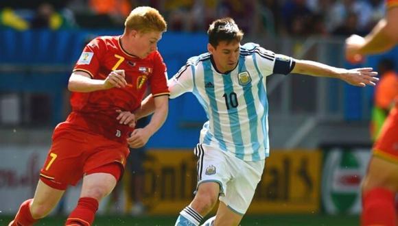 Kevin de Bruyne, referente del City, no mostró mayor emoción ante posible llegada de Lionel Messi.