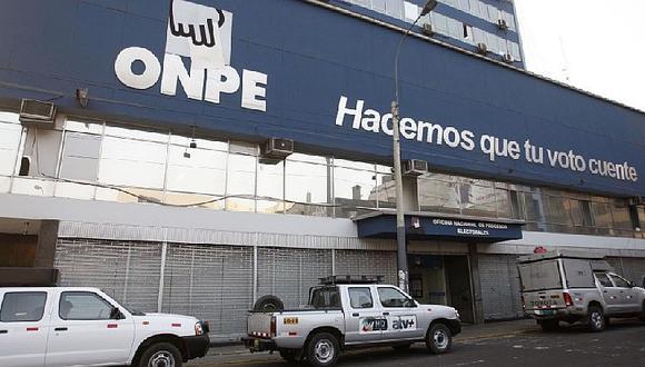 CAL: ONPE suspende servicio de asistencia técnica en elecciones para elegir nuevo decano