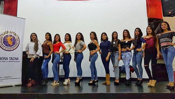 Aspiran a reina Turismo doce candidatas en Tacna