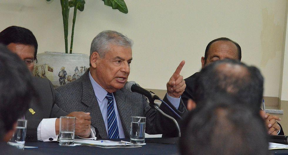 Solicitan libertad del expremier Cesar Villanueva en juzgado de Arequipa