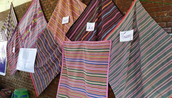 Diseño de mantas andinas revelan de qué parte del Perú provienen (FOTOS)