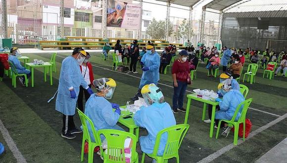 Municipio de Ica realiza pruebas rápidas a miembros de los comedores populares