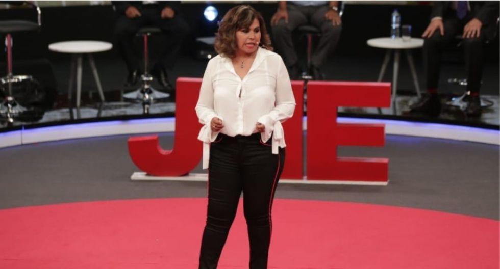 María Teresa Cabrera pidió licencia al Poder Judicial para postular al Parlamento en el partido Podemos Perú. (Foto: César Bueno)