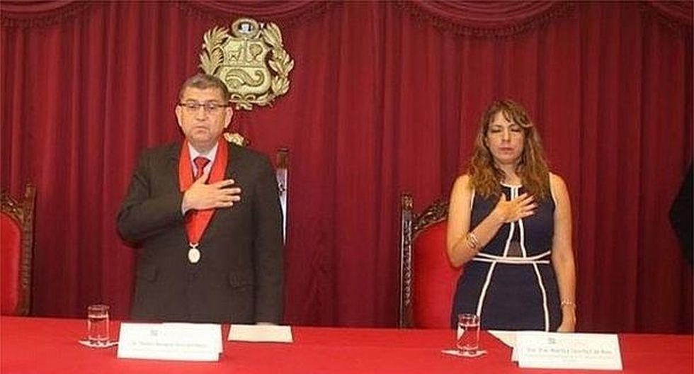 Difunden nuevos audios de exjuez Walter Ríos coordinando designación a amigos de su esposa