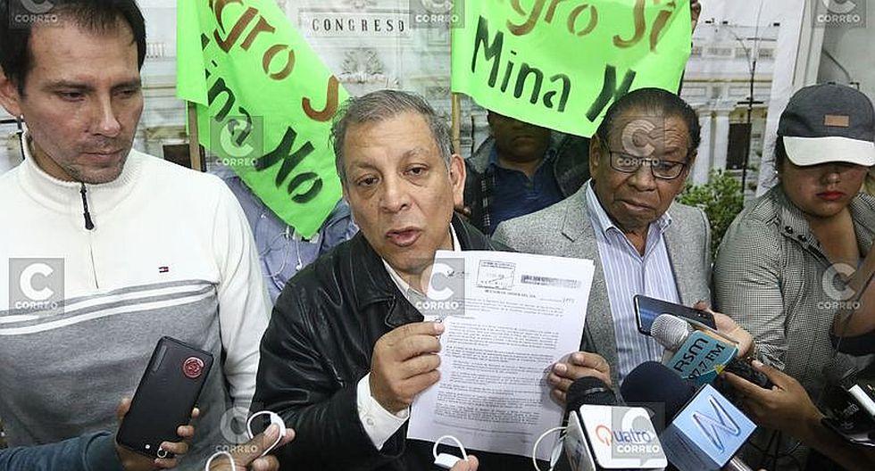 Tía María: Marco Arana se mostró a favor del plazo dado por el gobernador de Arequipa (VIDEO)