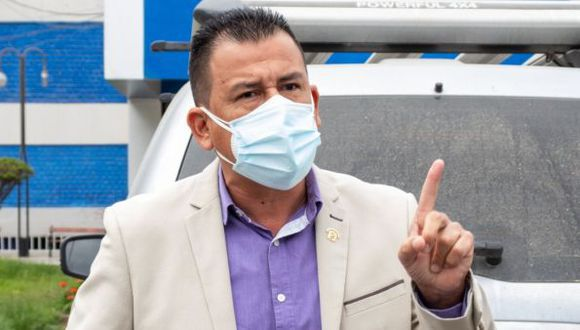 Jhosept Pérez, de APP, admitió este viernes haber sido el legislador que insultó al presidente Vizcarra. (Foto: Jhosept Pérez)