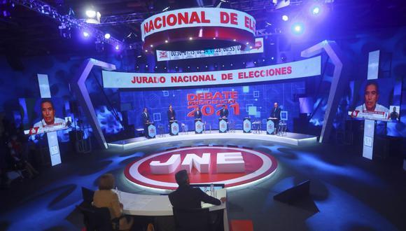 JNE exhortó a los partidos políticos Perú Libre y Fuerza Popular a que concreten acuerdos sobre el debate electoral. (Foto: GEC)