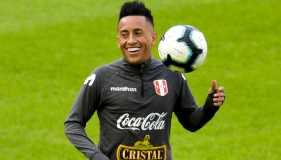 La publicación de Christian Cueva antes del Perú vs. Argentina. (Foto: AFP)