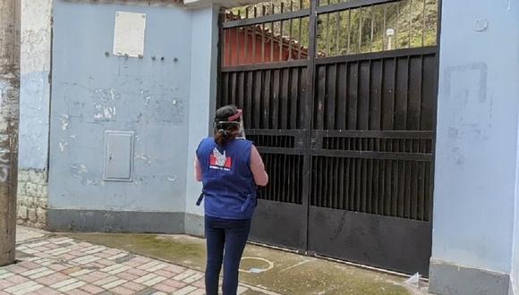 Defensoría del Pueblo inspecciona locales de votación.