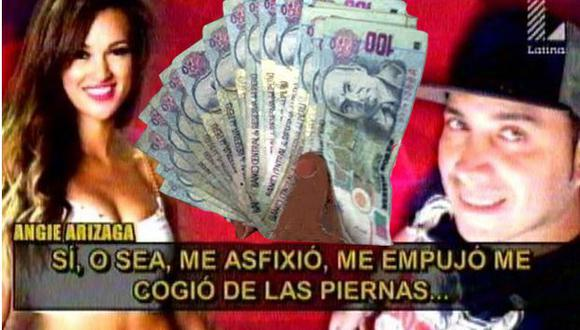Angie Arizaga: ¿Cuánto habría cobrado Angelo Lazo por revelar audios en programa de Magaly? [VIDEO]