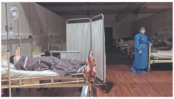 De 100 camas solo están ocupadas 20. Médicos coordinan acciones para enfrentar eventual tercera ola.
