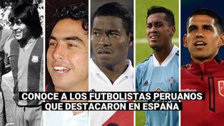 Luis Abram:  los peruanos que jugaron en España