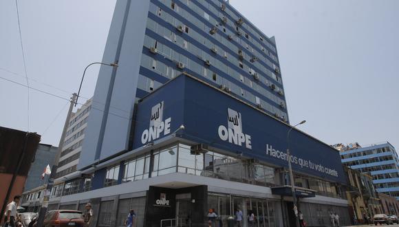 """La ONPE se refirió a la modalidad """"un afiliado, un voto"""" para comicios internos de los partidos políticos. (Foto: GEC)"""