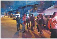 Intervienen a 17 haitianos ilegales en el distrito de Castilla, en Piura