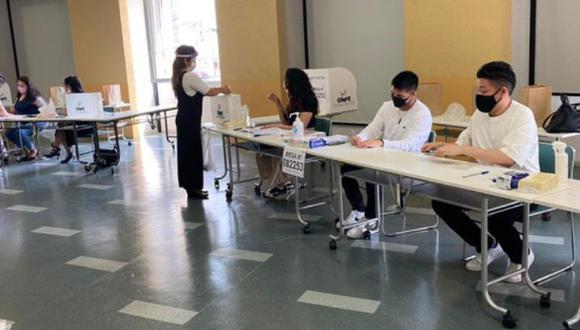 La ONPE viene publicando el avance de la revisión de actas que llegan desde los consulados en el extranjero. (Foto: @CancilleriaPeru)
