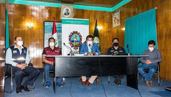 """Huanta: Comando COVID acuerda aislamiento """"obligatorio"""" los domingos"""