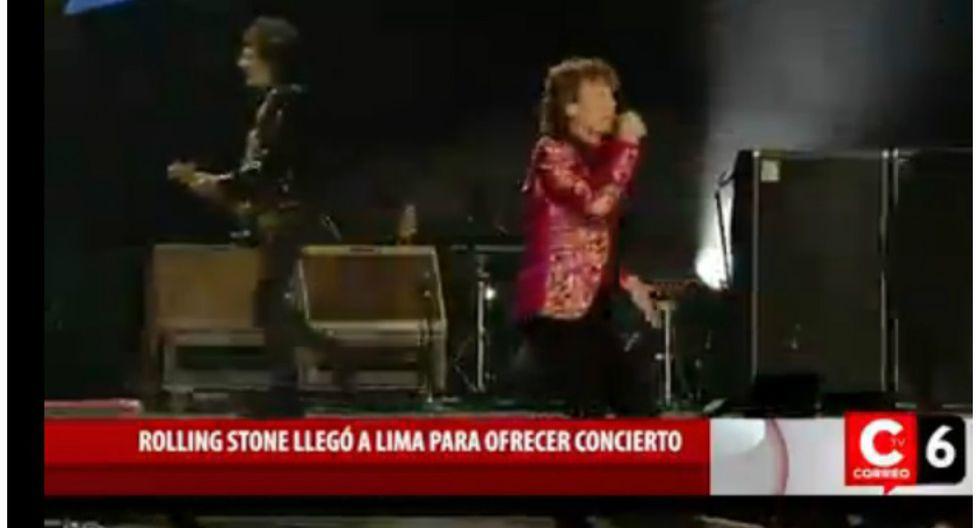 The Rolling Stones: A un día de esperado concierto de banda liderada por Mick Jagger (VIDEO)