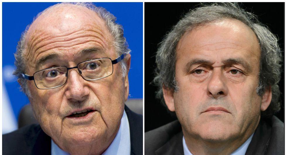 FIFA reduce de 8 a 6 años las suspensiones de Blatter y Platini