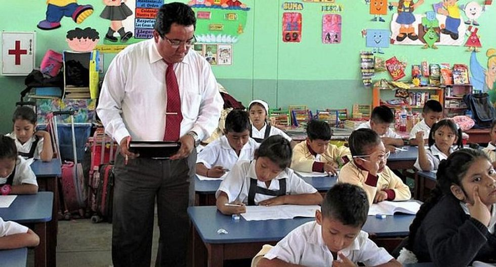 Profesores (Foto: Archivo Correo)
