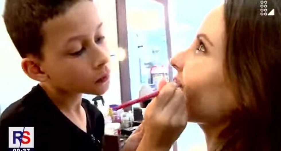 Conoce al primer niño maquillador peruano (VIDEO)