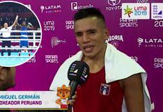 """Boxeador peruano rompió en llanto tras derrota: """"Más adelante te conseguiré una casita, mami"""" (VIDEO)"""