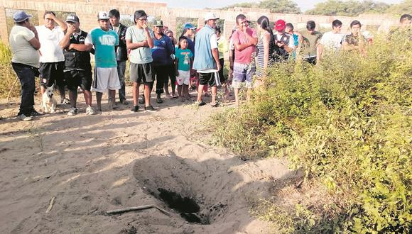 Hallan cadáver quemado y en estado de descomposición en el distrito de Reque