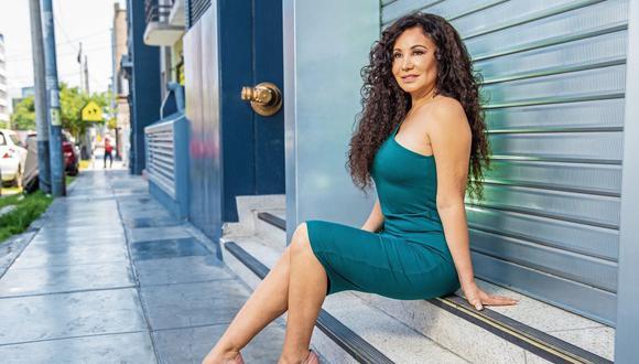La presentadora de televisión respondió al ser consultada por si había terminado su relación con Miguel Bayona.