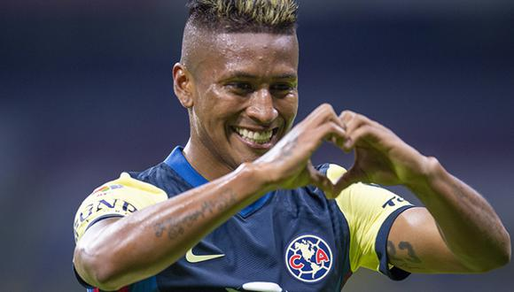 Pedro Aquino marcó su primer gol oficial con América. (Foto: Club América)